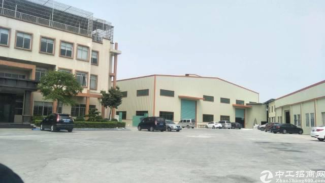 高埗镇横滘头独门独院标准厂房招租!