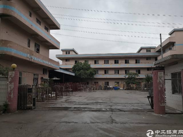 虎门原房东带蒸汽厂房出租面积7500平租11元电400kva