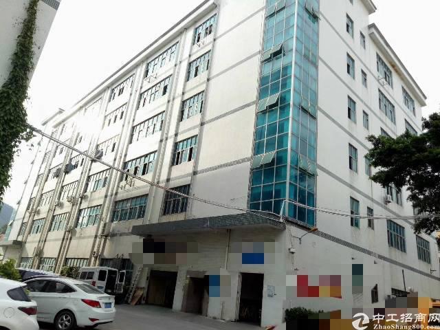 西乡航城工业城河东工业园楼上450平米带豪华厂房出租