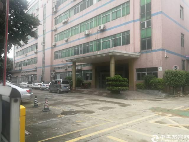 福永塘尾地铁站附近1000平方带装修厂房不用转让费