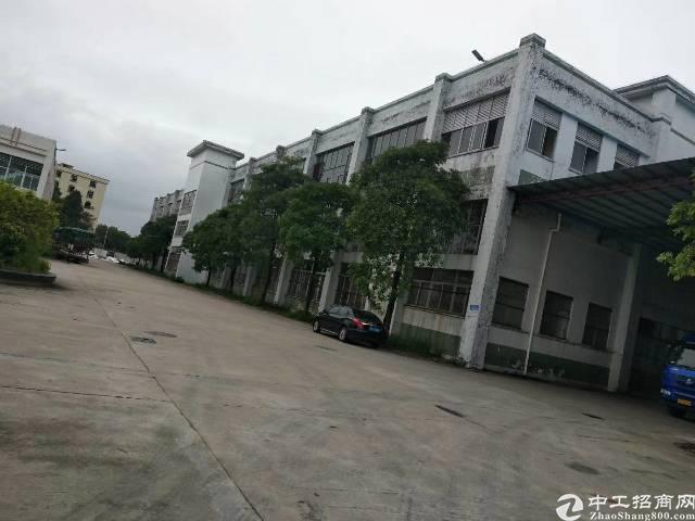 高埗镇独院工业区1至2层16000平一楼高7米带消防喷淋