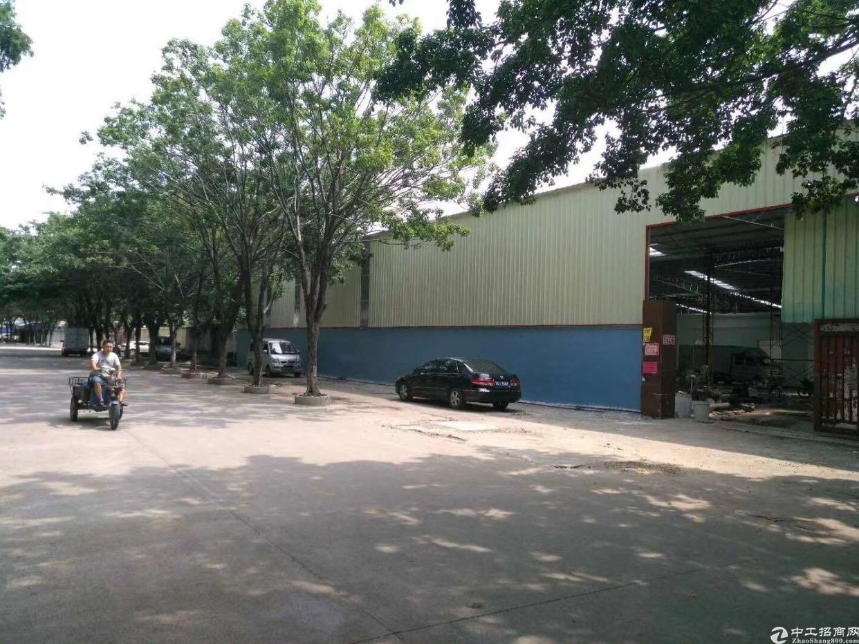高埗独院单一层厂房3800平电200适合各种行业