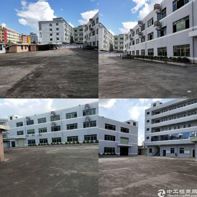 高埗镇独门独院标准厂房9100平方招租!