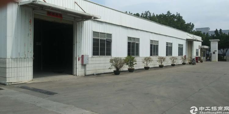清溪新出单一层独栋钢构厂房,滴水6米,适合仓库