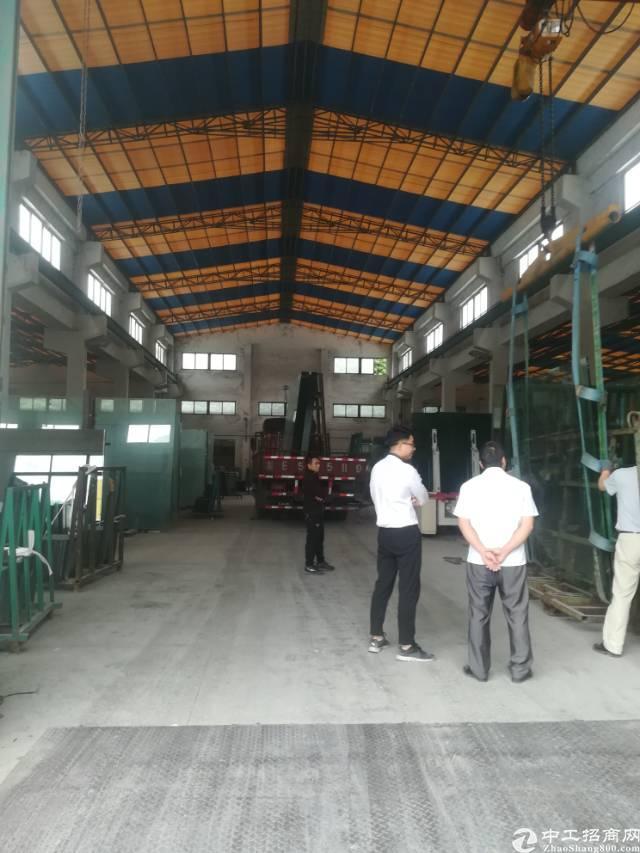 大岭山独院钢构滴水12米6000平方厂房出租