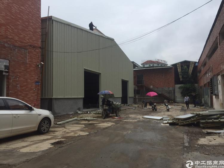 长安镇锦厦新出独门独院9米钢结构1400平厂房出租