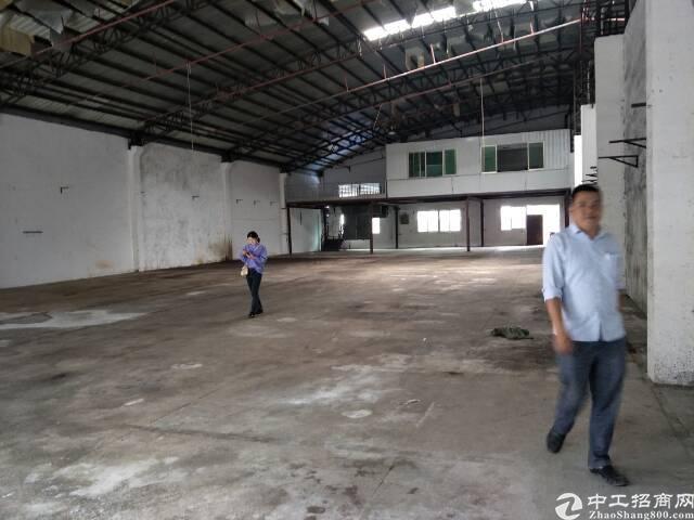 石碣北部工业区新出单一层钢结构厂房