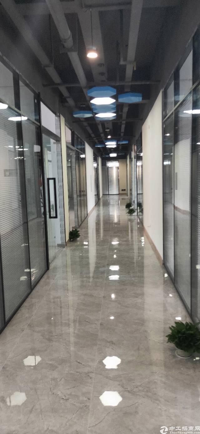 清湖地铁站,豪华装修红本写字楼130平起租