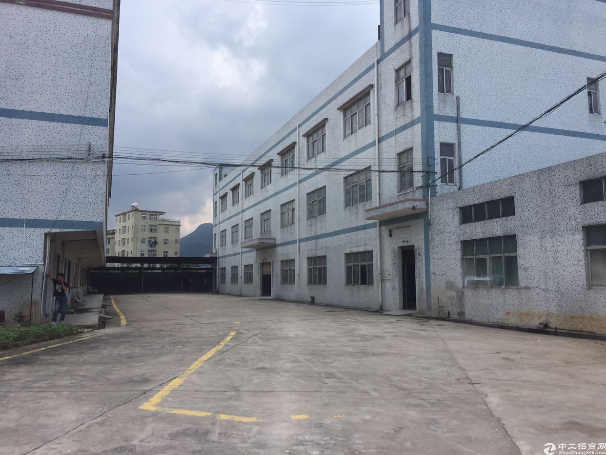 坪山原房东厂房出售3500平红本证件面积