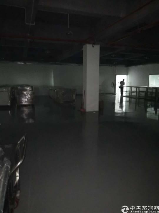 福永沿江高速口楼上1800㎡精装修厂房出租