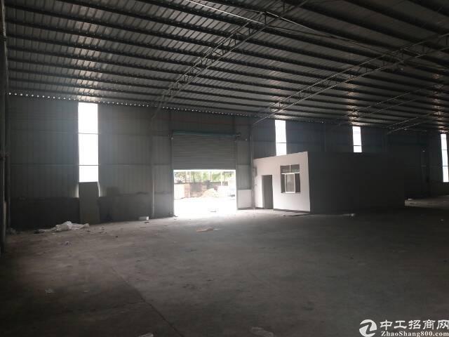 惠州市新建成钢结构独门独院厂房出租,空地大,货车可以漂移。