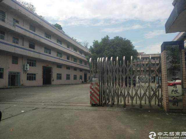 清溪花园式独院标准厂房总面积8500平方出租,主线到车间