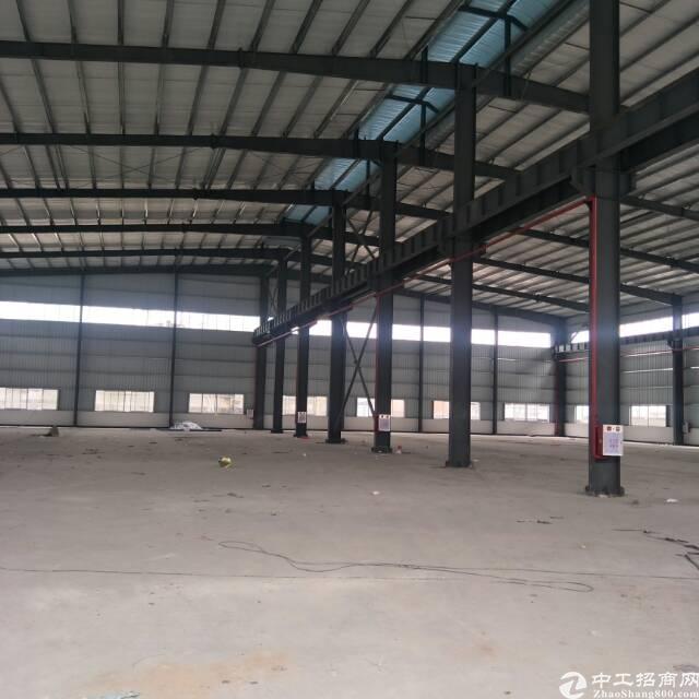 企石原房东分租一栋全新钢构1000平方,空地超大可独立