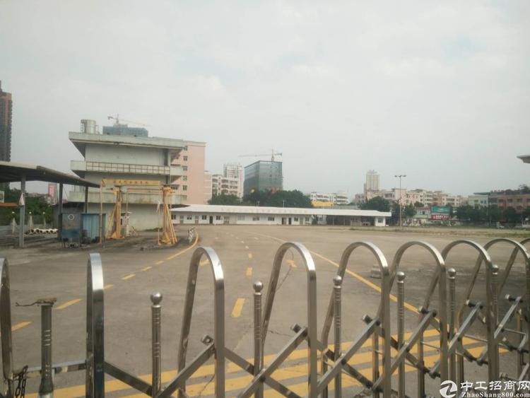 东莞黄江镇镇中心区域3万平空地