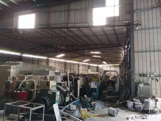 107国道边独门独院钢构厂房1560平方米急租
