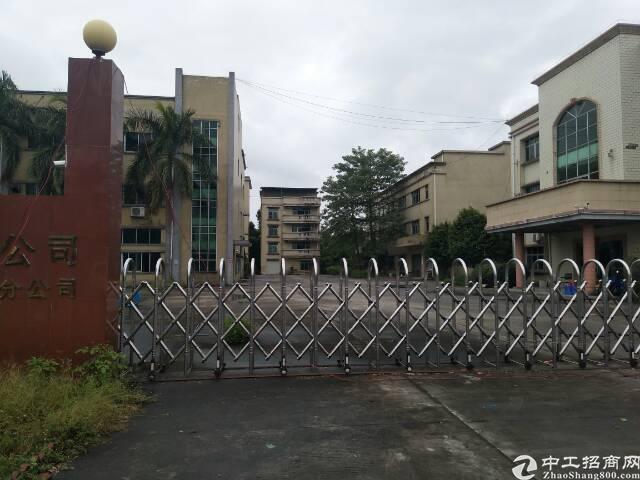 东江大道边上原房东8成新独院标准厂房带独立办公楼和水电线路低