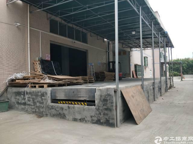 西乡鹤洲立交2000平米厂房仓库招租