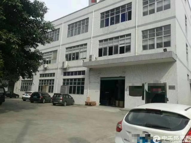 西乡后瑞金碧工业区5300平标准厂房出租