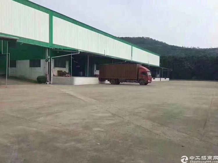 东莞清溪新出标准物流仓库23000平,丙二类消防-图3
