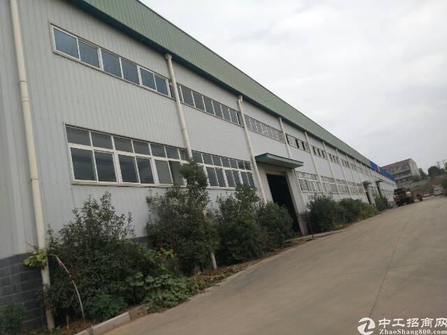 黄陂横店钢结构厂房4000平,带行10吨行吊可分租,配套办工