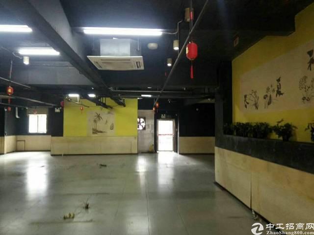 西乡 宝安35区大家好广场一楼500㎡带装修厂房招租