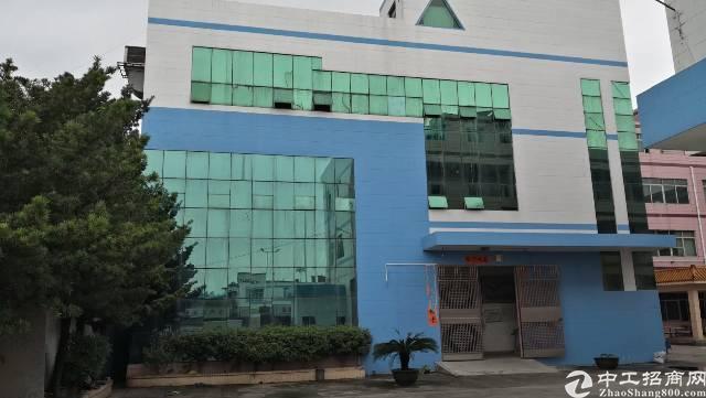 茶山新出独门独院标准厂房6500平方形象漂亮