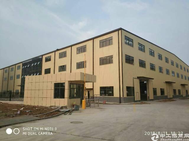 武汉蔡甸经济开发区钢结构厂房