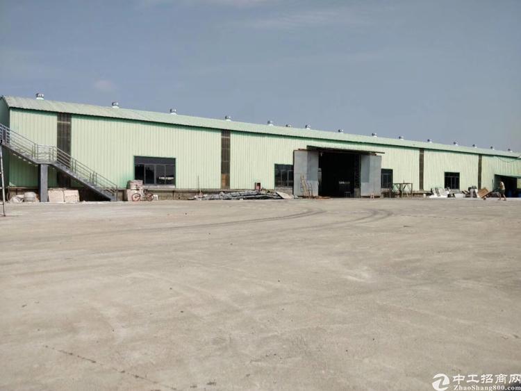 博罗新出独院单一层钢构厂房3800平方米,出售