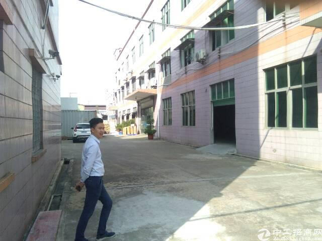 长安镇涌头原房东厂房出租1-3楼4500平方,带行车
