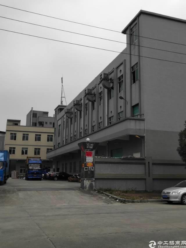 大朗靠松山湖独院原房东厂房3层4000平方+宿舍办公1300