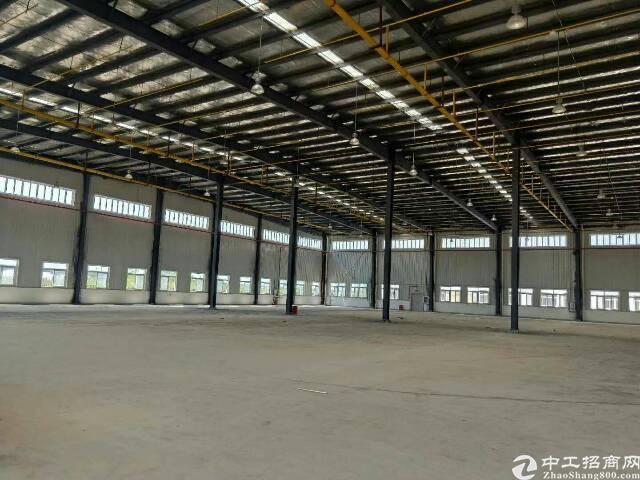 仓库15000平米。金刚砂地面。层高九米。丙二类消防配套齐全