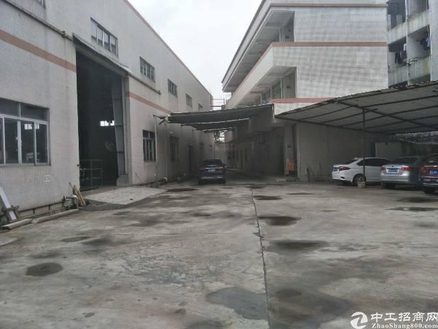 茶山镇靠近横沥独院钢构厂房2300平方出租