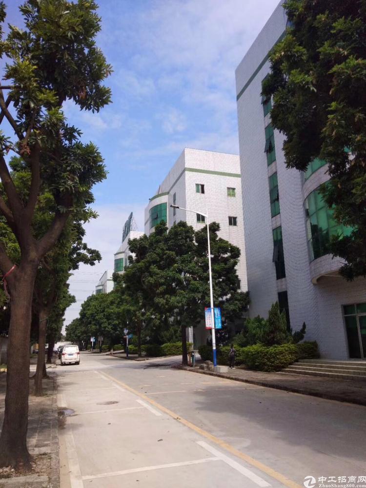 西乡臣田工业区花园式厂房3600平方大小可以分租