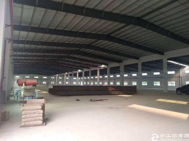 大岭山镇厚大路高速出口可办排放环评钢构单一层厂房出租