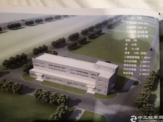 武汉周边葛店开发区独栋研发生产一体厂房招商