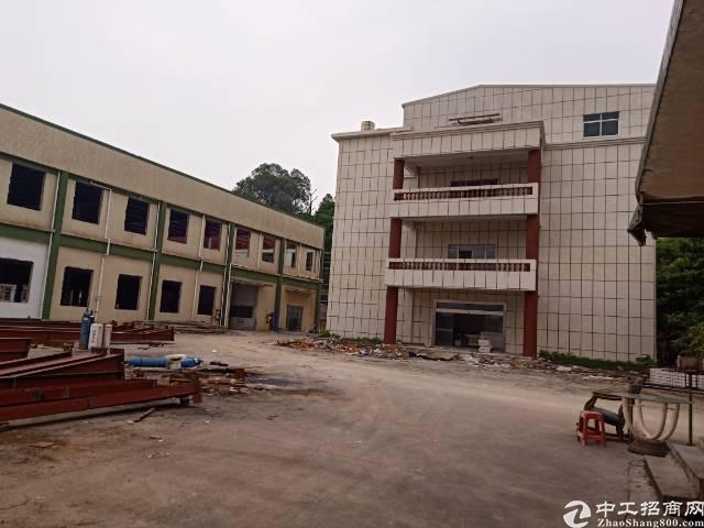 清溪原房东标准厂房三层带办公楼出租
