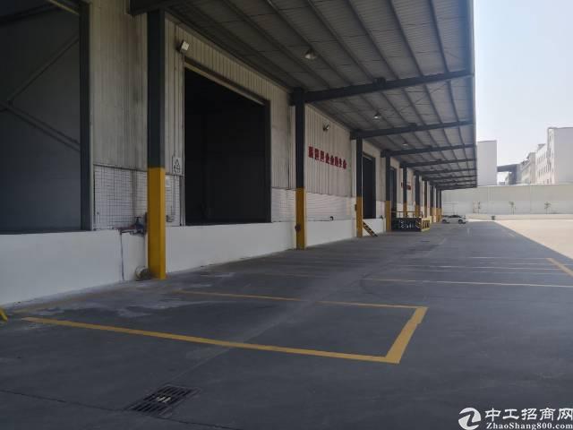 新出带卸货平台标准仓库10000平,仅租21