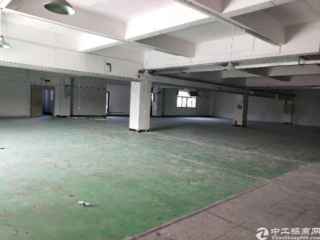 东莞清溪二楼厂房1400平,可分租
