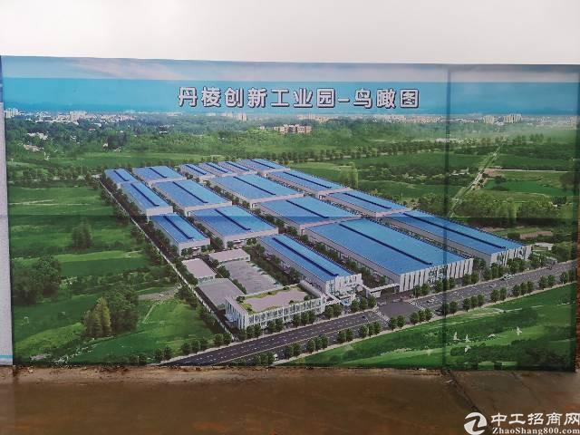工业园单层轻钢厂房,50年产权,入园门槛低,可办环评