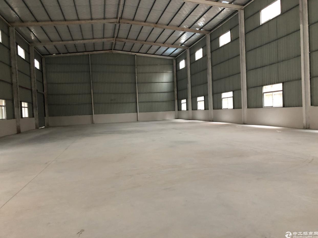 塘厦镇清湖头新出钢构950平方可以做仓库生产大路边独门