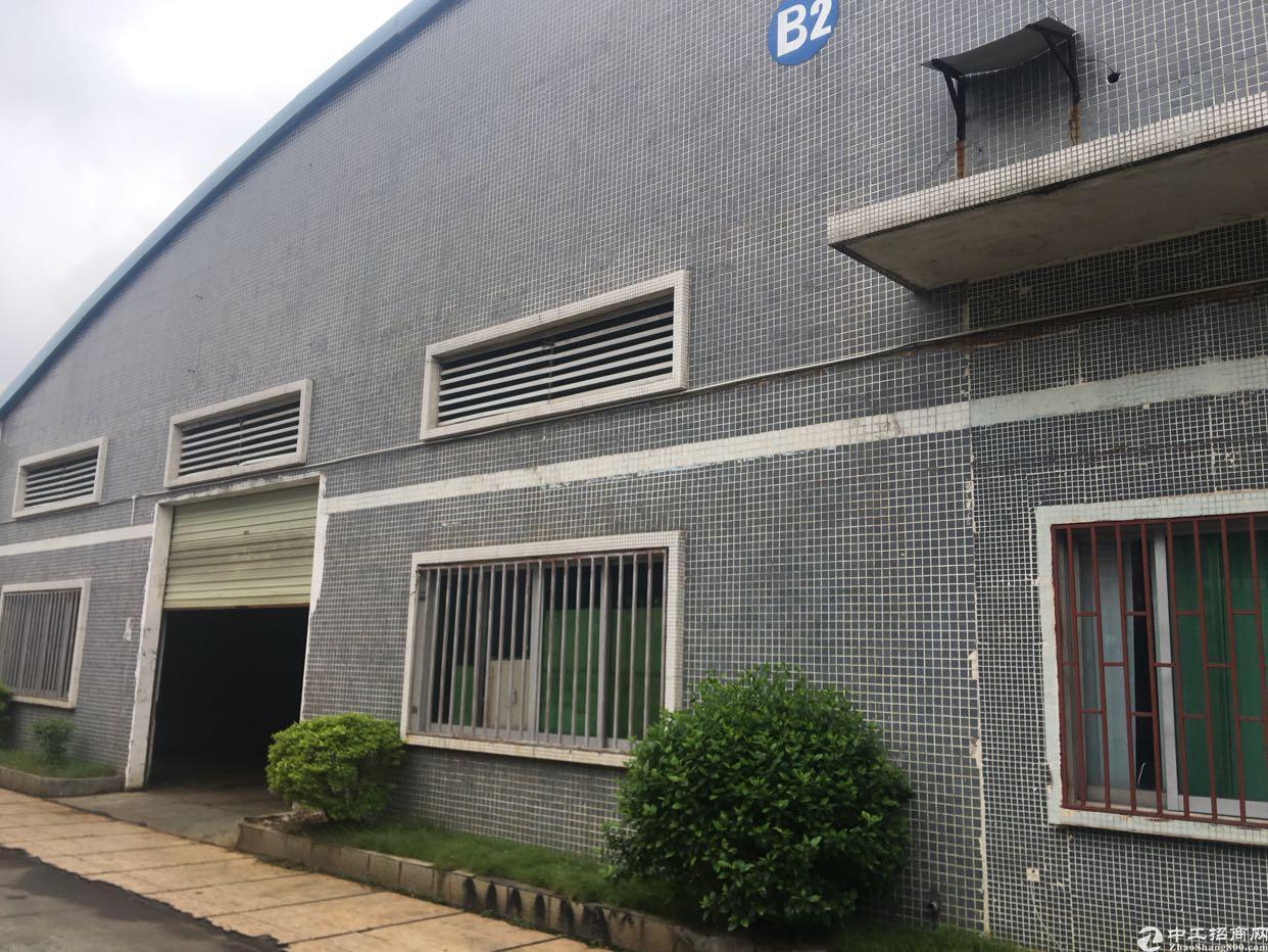 工业区独栋单一层厂房