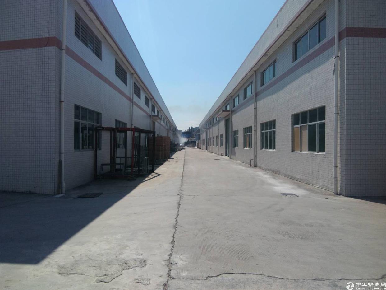 新出砖墙到顶钢结构厂房出租