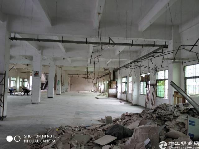 清溪镇上元新出标准厂房二楼1500平米,