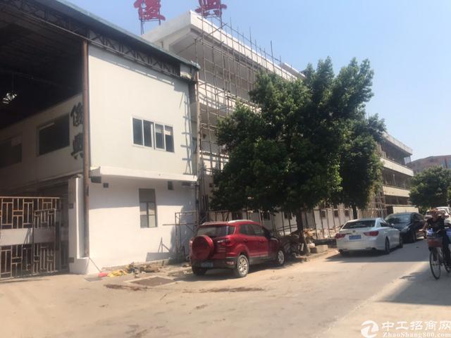 东莞黄江靠常平独门独院重工业铁皮滴水15米厂房整租
