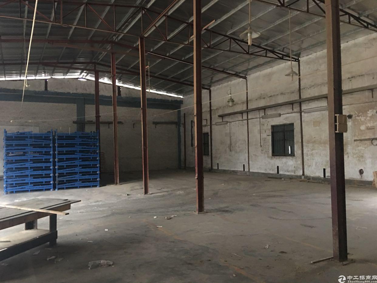 主干道边新出单一层钢结构400平高7米厂房出租