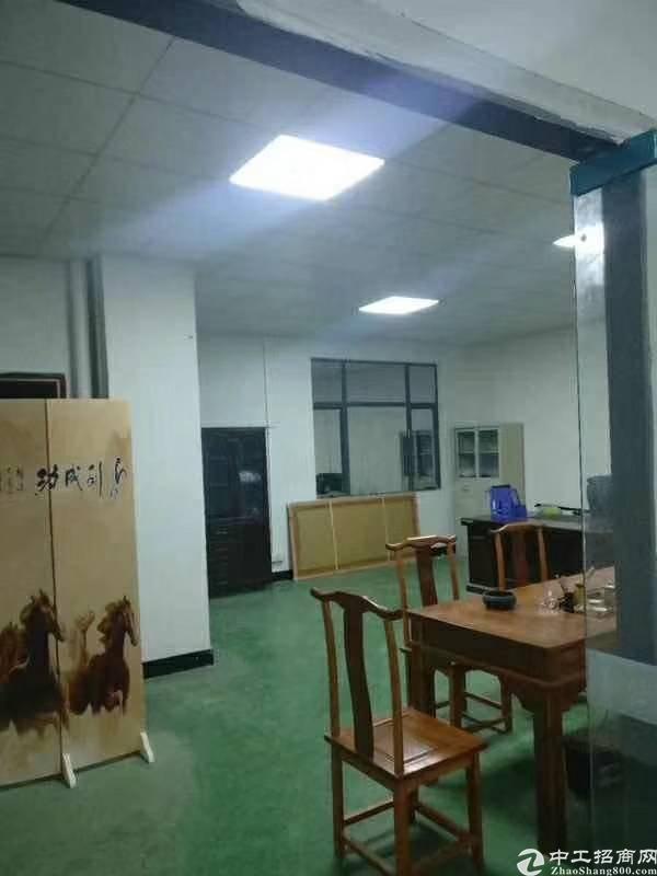 塘厦新出楼上厂房800平租13带装修办公室