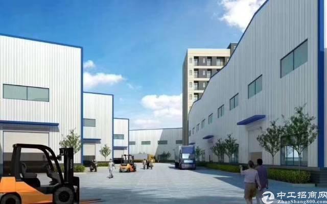 茶山镇全新重工业钢结构厂房110000平方滴水9米空地大