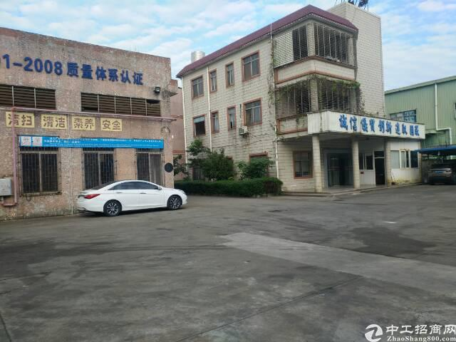 清溪镇新出带环评证现成喷漆线钢构厂房1500平米出租