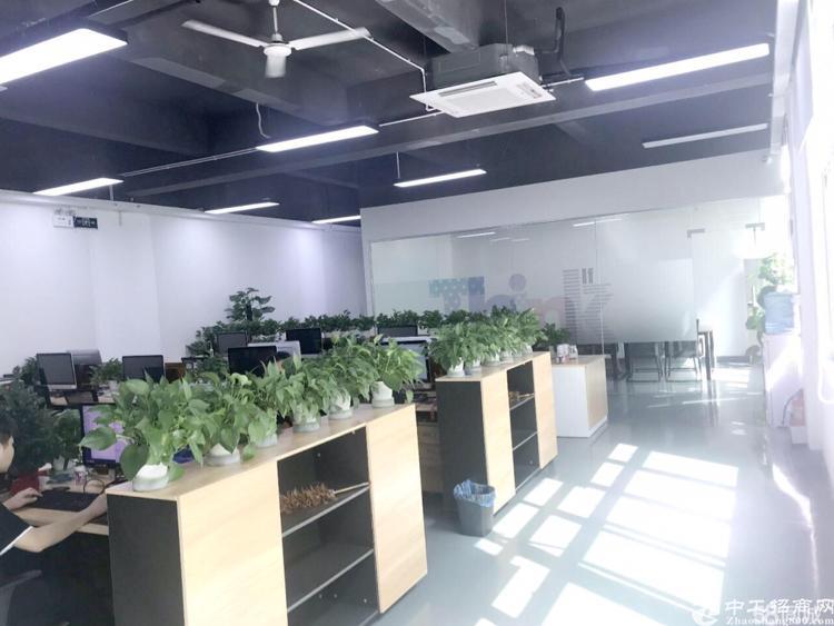 油松天汇大厦精装办公室690平办公室出租
