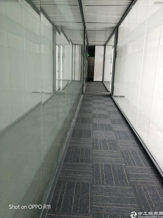 横岗大运地铁出口100米精装写字楼出租
